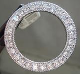 1.68ctw G SI Round Brilliant Diamond Circle Pendant R5548