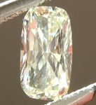 SOLD.....Loose Yellow Diamond: .30ct L VVS2 CUshion Cut GIA Hot Dog! R5479