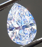 SOLD....Loose Colorless Diamond: 1.00ct F VS2 Pear Shape GIA Super Blue Pear R5520