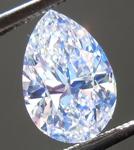 SOLD....Loose Colorless Diamond: 1.00ct F VS2 Pear Shape GIA Super Blue Pear R5520