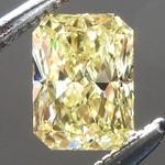 SOLD...Loose Yellow Diamond: .47ct Fancy Intense Yellow VS1 Radiant Cut GIA Gorgeous Cut R5444