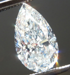 SOLD.... Loose Colorless Diamond: 1.08ct F VS2 Pear Shape GIA Incredible Stone R5518
