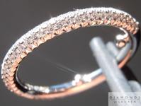 SOLD......Diamond Ring: .55cts E-F VS Round Brilliant Pavé Diamond Wedding Ring Special Price R5238