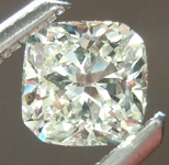 SOLD.....Loose Diamond: .41ct M VS1 Cushion Cut GIA Beautiful Cut R5463