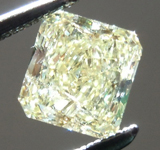 SOLD...Loose Yellow Diamond: .85ct Fancy Yellow I1 Radiant Cut GIA Great Value R5579