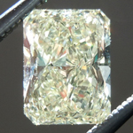 SOLD...Loose Yellow Diamond: .97ct U-V VS1 Radiant Cut GIA Tall Beauty R5580