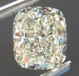 SOLD...Loose Yellow Diamond: 1.07ct U-V SI1 Cushion Cut GIA Totally Eye Clean R5497