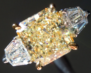 SOLD...2.59ct Y-Z VS1 Radiant Cut Diamond Ring GIA R5606