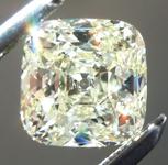 SOLD...Loose Yellow Diamond: .88ct Y-Z Internally Flawless Cushion Cut GIA Near Perfection R5620