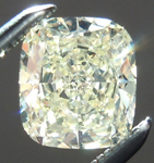SOLD..... Loose Yellow Diamond: .86ct Y-Z VVS2 Cushion Cut GIA Great Sparkle R5622