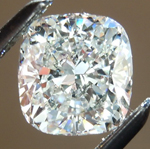 SOLD...Loose Colorless Diamond: 1.02ct G VVS2 Cushion Cut GIA Tremendous Sparkle R5619