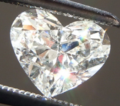SOLD...Loose Colorless Diamond: 1.14ct I SI2 Heart Shape GIA Eye Clean R5636