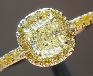 SOLD.....0.50ct W-X IF Cushion Cut Diamond Ring R5650