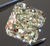 SOLD.... Loose Yellow Diamond: 2.59ct W-X VS1 Radiant Cut GIA Beautiful Cut R5779