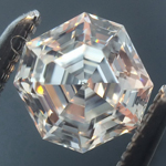 SOLD....Loose Colorless Diamond: .49ct F VVS2 Asscher Cut GIA Amazing Cut R5812