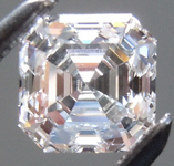 SOLD....Loose Colorless Diamond: .73ct F Internally Flawless Asscher Cut GIA R5820