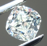 SOLD....Loose Colorless Diamond: .62ct I VS1 Old Mine Brilliant GIA Beautiful Stone R5860