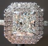 2.02ct H Internally Flawless Radiant Cut Diamond Ring GIA  R5787