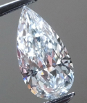 SOLD....Loose Colorless Diamond: .57ct E VS1 Pear Brilliant GIA Long Lean Beauty R5940