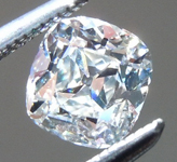 SOLD.....Loose Colorless Diamond: .60ct G/VVS2 Old Mine Brilliant GIA Great Cut R5957