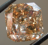 Loose Brown Diamond: 4.01ct Fancy Yellow Brown I2 Radiant Cut R5953