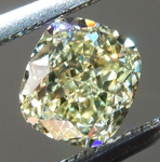 SOLD......Loose Yellow Diamond: .52ct Y-Z Internally Flawless Cushion Cut GIA Sweet Stone R6009