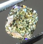 SOLD......Loose Yellow Diamond: .52ct Y-Z Internally Flawless Cushion Cut GIA Sweet Stone R6009