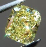 SOLD.....Loose Yellow Diamond: 1.15ct Fancy Intense Yellow VS2 Cushion Cut GIA Remarkable Stone R6051