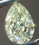 Sold...Loose Yellow Diamond: 1.00ct W-X Internally Flawless Pear Shape GIA Great Cut R6067
