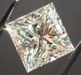 Loose Diamond: 4.02ct M VS2 Princess Cut Diamond Value GIA R6121