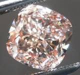 SOLD.......Loose Pink Diamond: 2.01ct Fancy Pink-Brown SI1 Cushion Cut Diamond GIA R6118