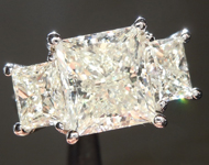 SOLD... 4.01ct M VS1 Princess Cut Diamond Ring R6132
