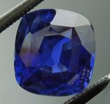 SOLD...Loose Sapphire: 2.78ct Blue Cushion Cut Unheated Sapphire GIA R6131