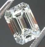 SOLD...Loose Emerald Cut Diamond: .65ct K VS1 Emerald Cut Diamond GIA R6140