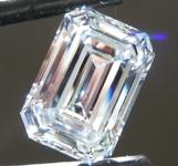 Loose Colorless Diamond: 3.55ct D VS1 Emerald Cut Diamond GIA R6207