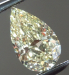 SOLD...Loose Yellow Diamond: .60ct Fancy Yellow Internally Flawless Pear Shape Diamond GIA R6232