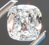 SOLD...Loose Colorless Diamond: .53ct E I1 Cushion Cut Diamond GIA R6314