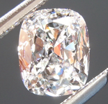 SOLD....Loose Colorless Diamond: .52ct D SI1 Cushion Brilliant Diamond GIA R6313