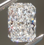 SOLD....Loose Colorless Diamond: 1.60ct E VS2 Original Radiant Cut Diamond GIA R6143
