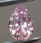 SOLD...Loose Sapphire: 1.44ct Pink Pear Shape Sapphire R6342