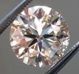 Loose Brown Diamond: 2.08ct S-T, Light Brown SI2 Round Brilliant Diamond GIA R6359