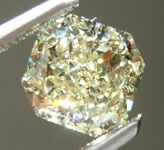 Loose Yellow Diamond: 1.01ct Y-Z SI1 Radiant Cut Diamond GIA R6402