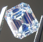 SOLD...Loose Diamond: 1.12ct K Internally Flawless Emerald Cut Diamond GIA R6399