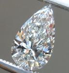 SOLD...Loose Colorless Diamond: .49ct H Internally Flawless Pear Shape Diamond GIA R6475