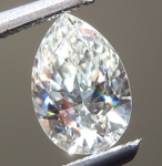 Loose Diamond: .56ct J VVS2 Pear Shape Diamond GIA R6477