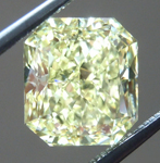 Loose Yellow Diamond: 2.44ct Fancy Yellow VS1 Radiant Cut Diamond GIA R6499