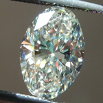 SOLD....Loose Diamond: 1.11ct K VS2 Oval Brilliant Diamond GIA R6500