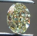 Loose Yellow Diamond: 1.11ct Fancy Yellow SI1 Oval Modified Brilliant Diamond GIA R6525