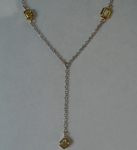 Yellow Diamond Necklace: .34ctw Y-Z VS Radiant Cut Diamond Drop Necklace R5936