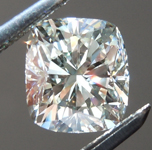 1.08ct L VS2 Cushion Cut Diamond R6548